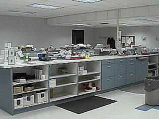 Dental Lab Work Desk