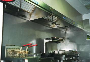 Sakura kitchen hood