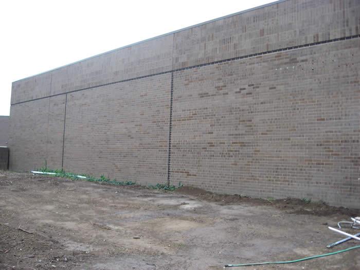 Exterrior Entrance Before Construction